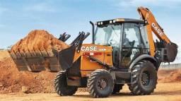 Aluguel de escavadeira, retroescavadeira, caminhão e demais equipamentos.