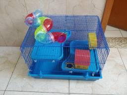 Gaiola para Hamster Big Space azul