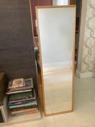 Espelho De Corpo, 122 Cm X 37 Cm, Em Bom Estado!