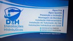 Empresa de instalações hidráulicas