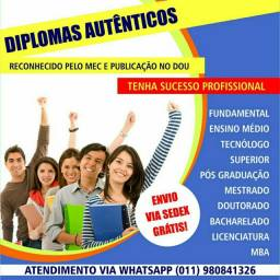 Garanta seu futuro diplomas