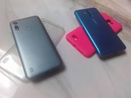 Smartphone Motorola Moto E6S 32GB  +  Leagoo M9 Pro - Leia o Anuncio !!!