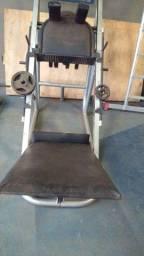 Leg press rack