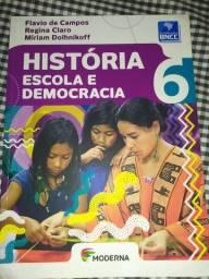 História escola  democracia 6 - Flávio de campos