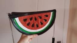 Bolsinha de melancia