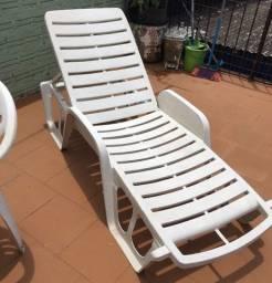 Cadeira de piscina e jardim