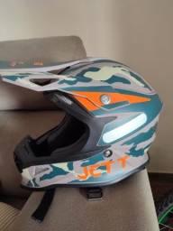 Capacete Jett Cross Fast Factory Edition