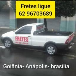 Frete pequeno mudanças Goiânia Anápolis barato