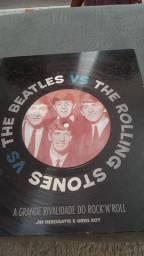 Livro do The Beatles vs the Rolling Stones