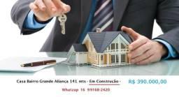 Casa bairro Grande Aliança - Sertãozinho