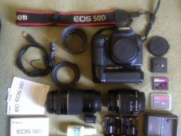 Equipamento Fotografico Canon - 50D - Casamentos, Books, Iniciantes