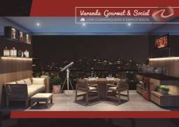 Apartamento com 1 dormitório para alugar, 40 m² por R$ 2.350,00/mês - Jardim Aquarius - Sã