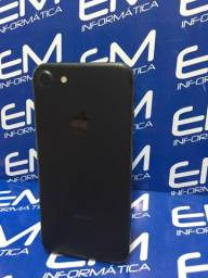 IPhone 7 128Gb Preto - Seminovo - com nota e garantia, somos loja fisica