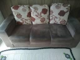 Vendo conjunto de sofas perfeito estado de novo