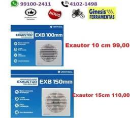 Exaustor de Banheiro 15cm110,00 e 10cm99,00 Ventisol com Entrega Gratis