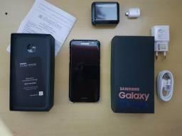 Galaxy S7 Edge 128Gb Black Piano Edição Limitada - Vendo Ou Troco Por Iphone 7 Plus