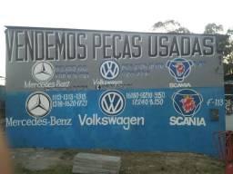 Peças usadas MB VW Scania
