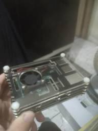 Raspberry pi 3+ , jogos retro incluso! , aceito troca