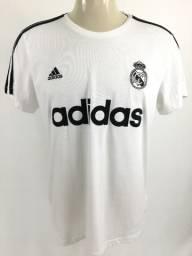 115 Camisa Camiseta Adidas Real Madrid Vinícius Junior Modric Viagem  Oficial Original G fd39ec5e16f41