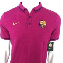 c272c73f114 108 Camisa Camiseta Polo Nike Barcelona Original Messi Coutinho Arthur Oficial  Futebol G