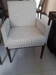 Conjunto sofá 2 e 3 lugares e 2 poltronas Lar Shopping