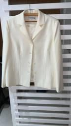 Casaco branco,