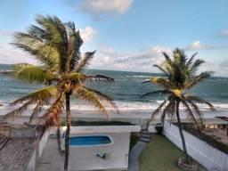 Aluga-se cobertura beira mar com 200m2 na praia de tabatinga piscinas naturais
