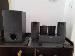 Home theater Sony DAV-DZ340K 850w rms de potência