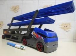 Caminhão Cegonha Hot Wheels - Mattel