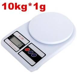 Balança eletrônica digital uso doméstico e profissional 10Kg