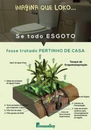 Tratamento ecológico de esgoto sanitário
