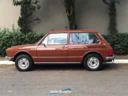VW Brasília 1974 Marrom Caravela - Ateliê do Carro