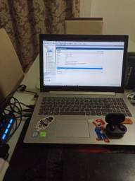 Vendo Notebook Lenovo Ideapad 320 i7 + 12GB de Ram