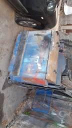 Máquina industrial de varrer