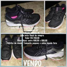 Tenis asics Gel Kayano 26 Night Track - Feminino 37