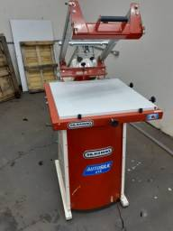 Maquina de impressão semi-automatica