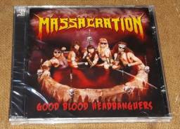 Massacration - CD Good Blood Headbanghers