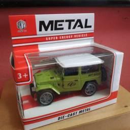 R$34,90 - Jeep Metal Colecionaveis