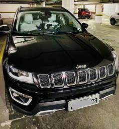 Jeep/compass limited 4x4 diesel preto completo