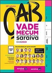 Vade Mecum Saraiva OAB 19ª edição (Português) - Capa dura (Criciuma)