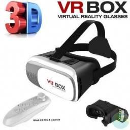 Óculos 3d Realidade Virtual Vr Box