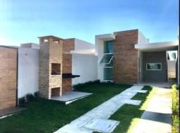 Casa plana com 2 quartos em ótima localização no Eusébio!
