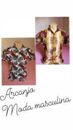 Camisas floral masculina
