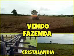 Fazenda em Cristalandia lado BR 153 oportunidade