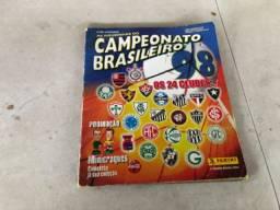 Álbum de figurinhas Campeonato Brasileiro 1998
