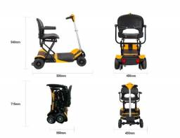 Scooter Elétrica Cadeira Inteligente Com Controle Remoto