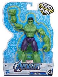 Boneco Marvel - Hulk - Bend And Flex - Hasbro