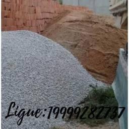 Carga de Areia R$399,00 e Pedra R$500,00