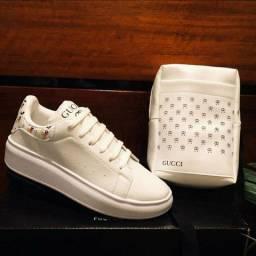 Tênis Gucci + Bolsa de Brinde