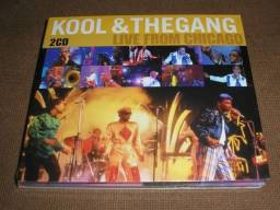 Kool & The Gang - CD Duplo Live From Chicago